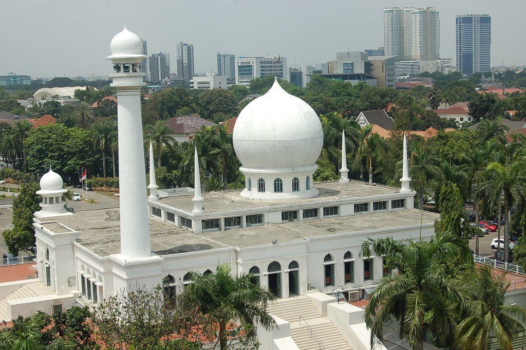 masjid terbersih di Jakarta
